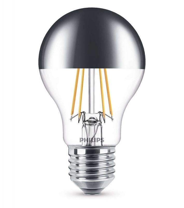 620 lumen philips ledclassic a60 e27 filament kopfspiegellampe 5 5w 2700k wie 48w. Black Bedroom Furniture Sets. Home Design Ideas