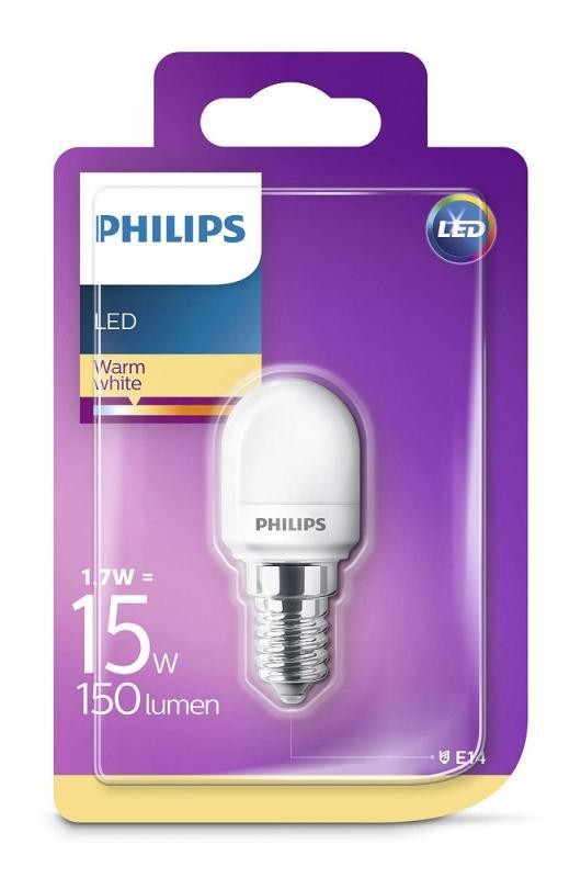 150 Lumen Philips Led T25 E14 1 7w 2700k Wie 15w