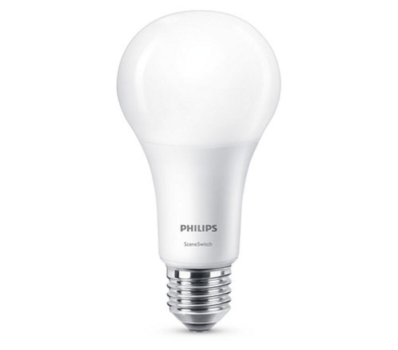 philips led sceneswitch a60 e27 lampe 2200 2700k wie 100w. Black Bedroom Furniture Sets. Home Design Ideas