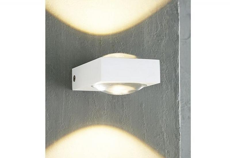 Mylight LED Wandleuchte JENA Up & Down dimmbar in weiss