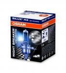 OSRAM 64193NBU NIGHT BREAKER® UNLIMITED H4 Faltschachtel P43t Abblendlicht/Fernlicht