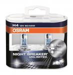 OSRAM 64193NBU-HCB NIGHT BREAKER® UNLIMITED H4 Duobox P43t Abblendlicht/Fernlicht
