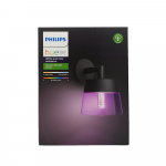 Philips HueLED Wandleuchte White & Color Ambiance Attract Schwarz IP44