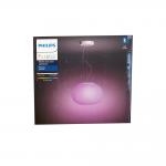 Philips Hue White & Color Ambiance Flourish Pendelleuchte Bluetooth weiss